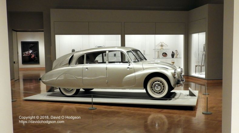 Tatra T87 at the Minneapolis Institute of Art