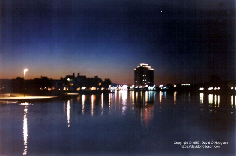 Foster City, California, in 1987
