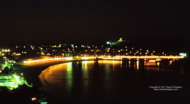 Scarborough South Bay at Night, 1977