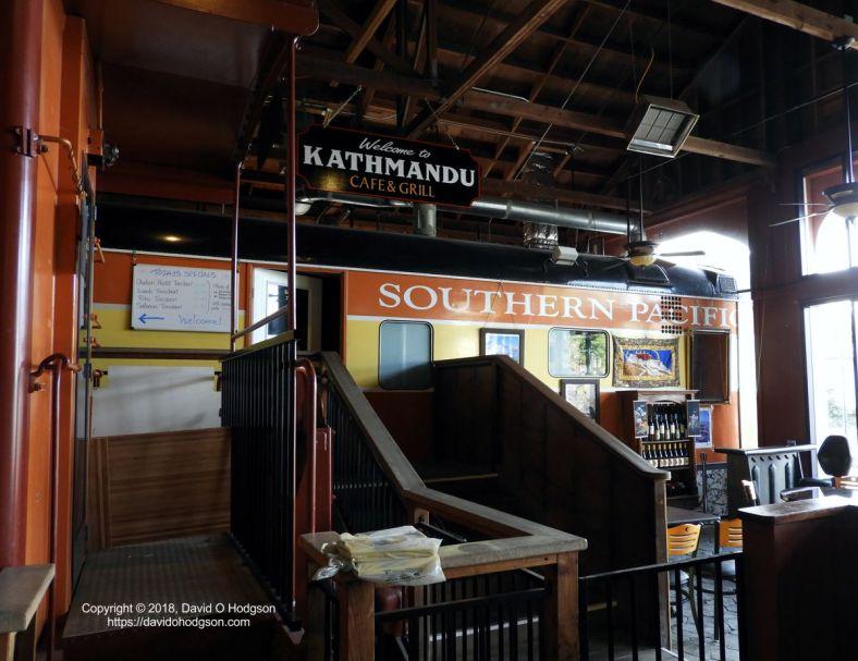 Gravenstein Station: Former  SP Dining Car