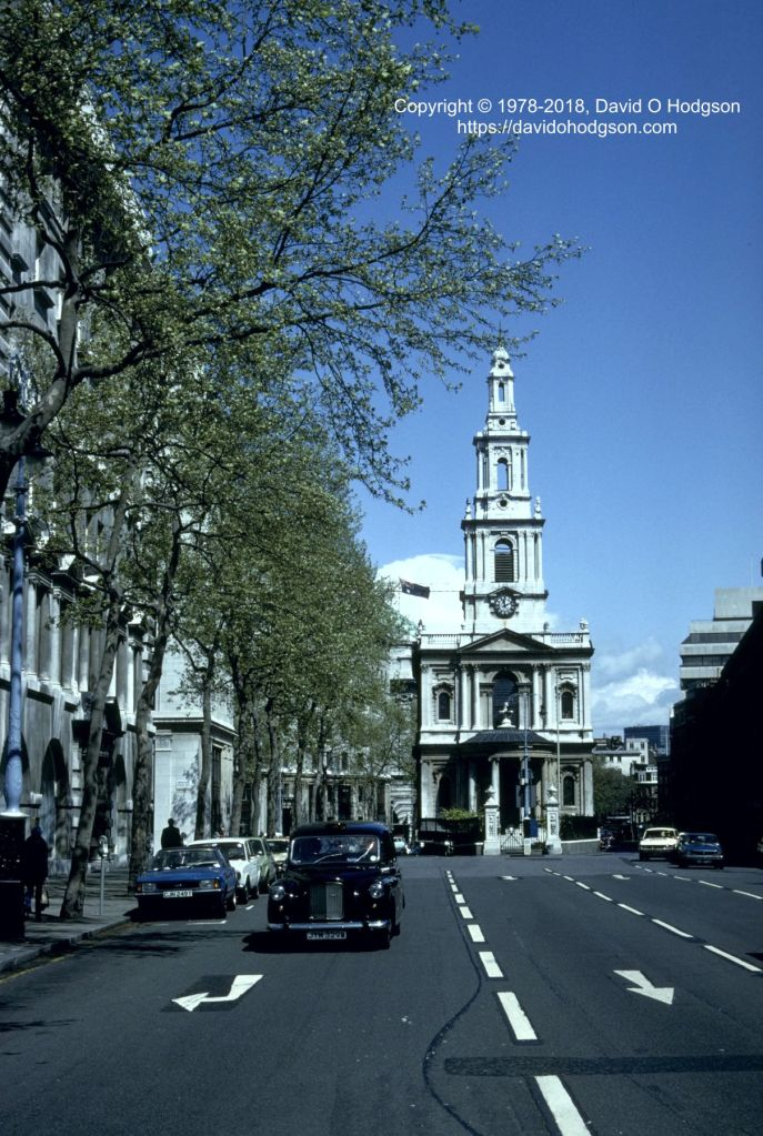 St Clement Danes Church, London