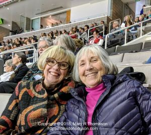 Mary & Pam at the US Nationals Figure Skating Championship